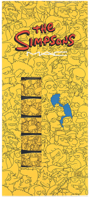 MAC The Simpsons Nail Stickers