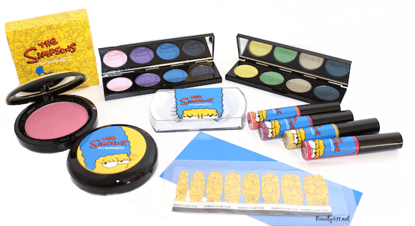 MAC The Simpsons makeup Collection-group
