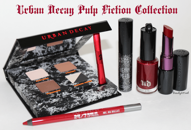 Urban Decay Pulp Fiction Collection