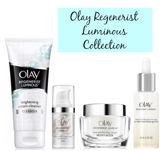 Olay Regenerist Luminous collection-banner