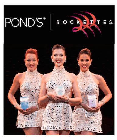 PONDS - ROCKETTES hero