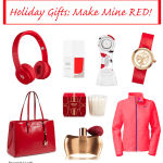 Holiday Gift Guide - red gifts