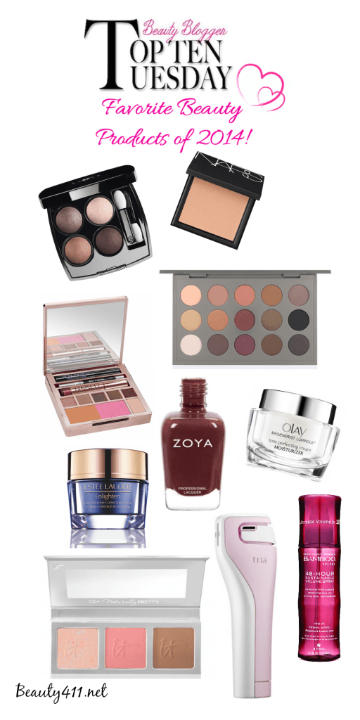 Favorite beauty products-2014