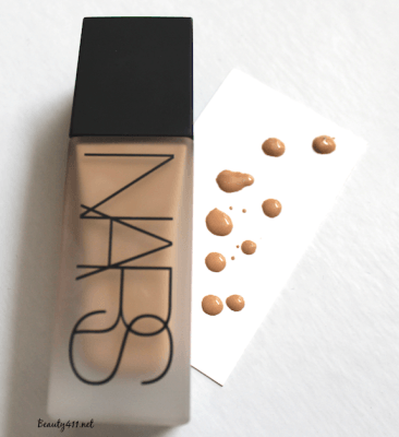 NARS All Day Luminous Weightless Foundation-Santa Fe Swatch