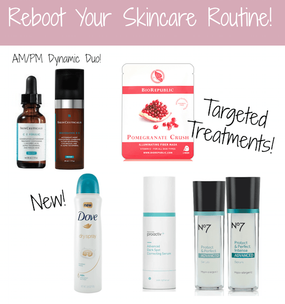Reboot Your Skincare Routine banner