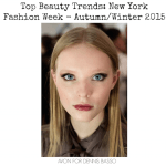Top 5 Beauty Trends from New York Fashion Week Autumn/Winter 2015!