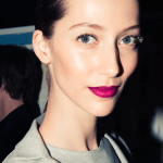 Backstage beauty at Carolina Herrera Fall/Winter 2015