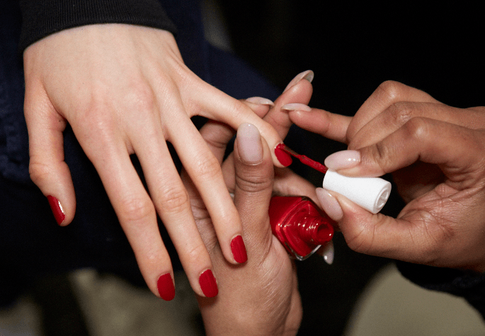 essie forever yummy at carolina herrera