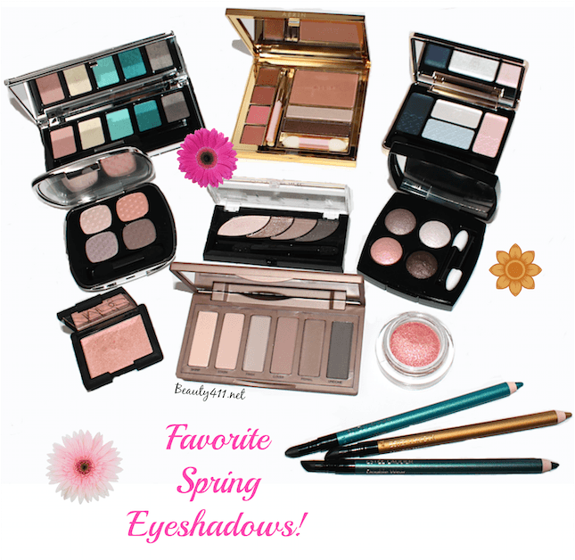Favorite Spring Eyeshadows banner