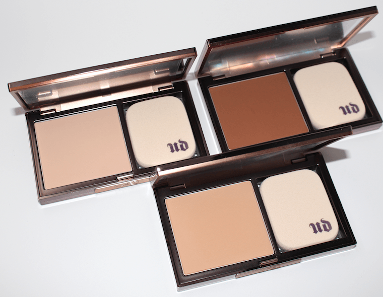 Urban Decay Ultra Definition Powder Foundation shades