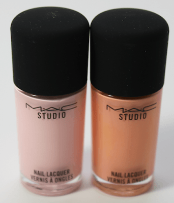MAC French Tipped and To Dye For Studio Nail Lacquer