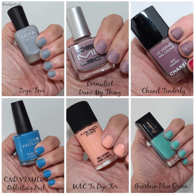 Spring – Summer 2015 Nail Polish Trends