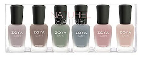 Zoya Naturel Satin Sampler