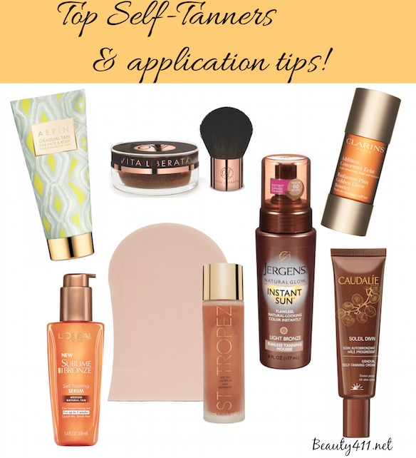 Top Self Tanners 2015