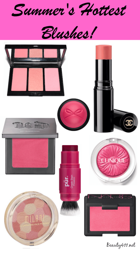 Summer's Hottest Blushes