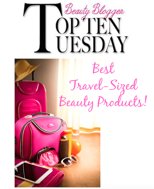 Best Travel-Sized Beauty products