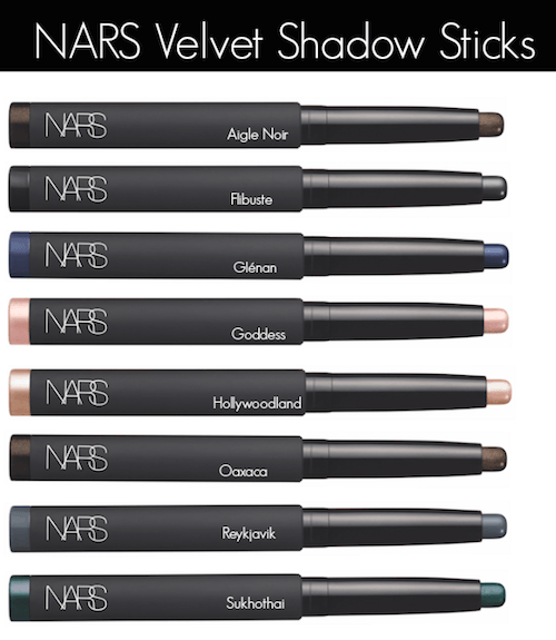 NARS Velvet Shadow Sticks - group