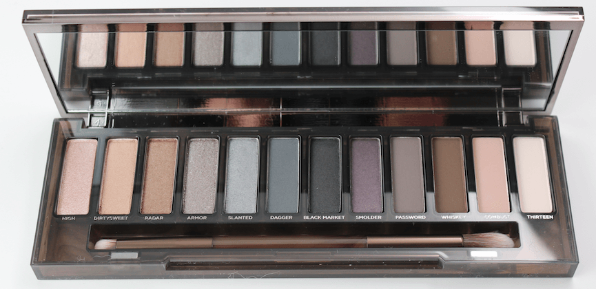Urban Decay Smoky Palette-open