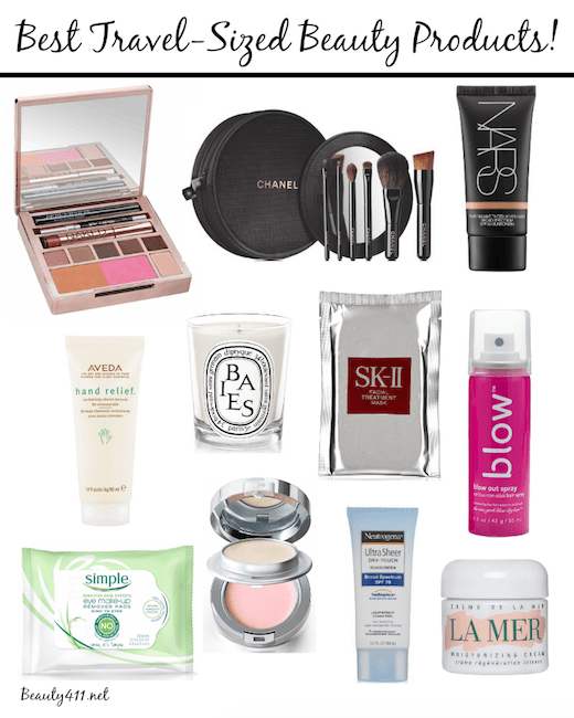 best travel-size beauty products