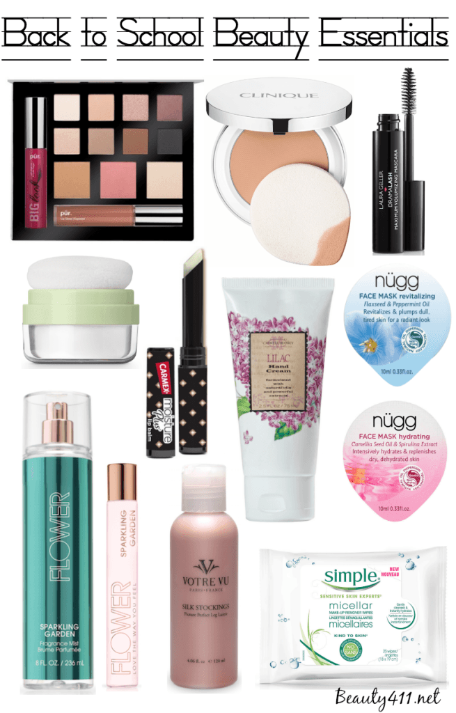 Back to School Beauty Essentials