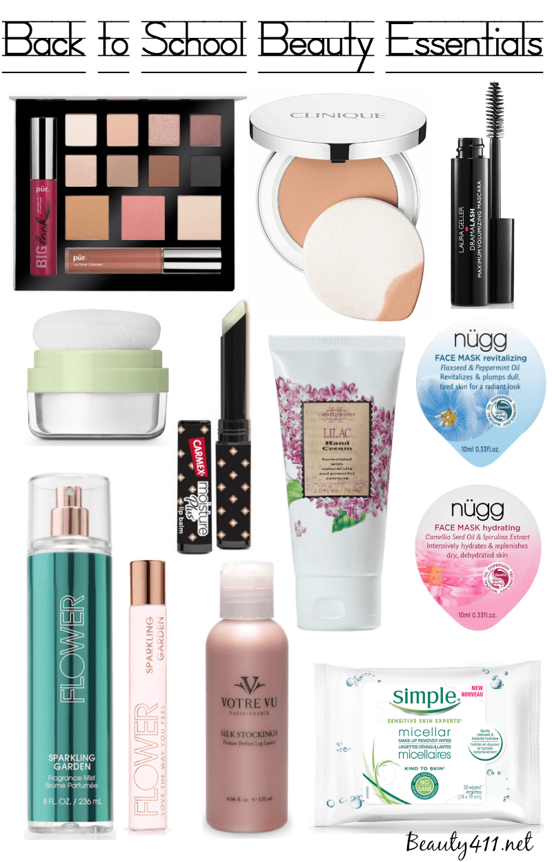 Makeup Essentials Must Haves From Makeup Artists Part 1: Back To School Beauty Essentials!