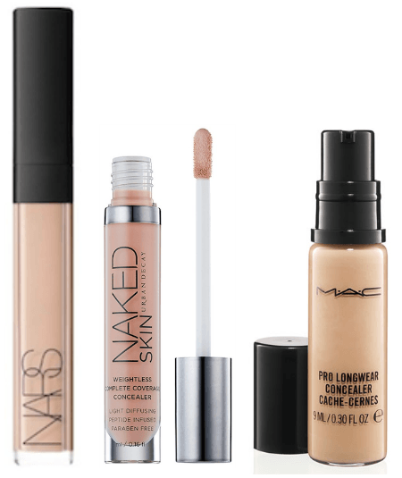 Makeup Wars - top undereye perfector-concealers