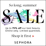 Sephora So Long, Summer Sale!