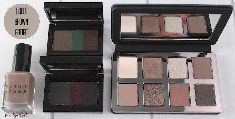 Bobbi Brown Greige Collection Collection samples