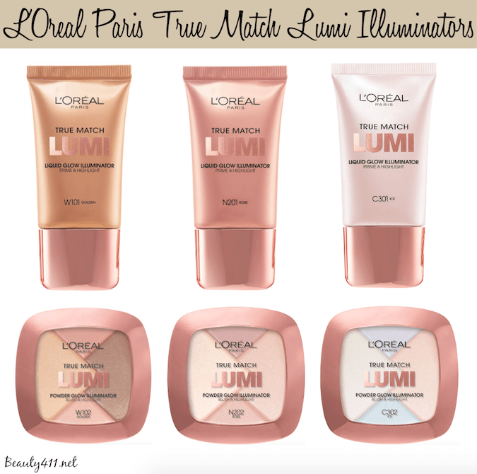 L'Oreal Paris True Match LUMI Illuminators_hero