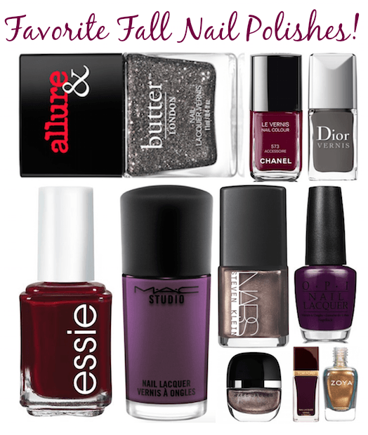 Favorite Nail Polishes- Fall 2015