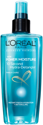 L'Oreal Paris Advanced Haircare Power Moisture 10 Second Hydra Detangler