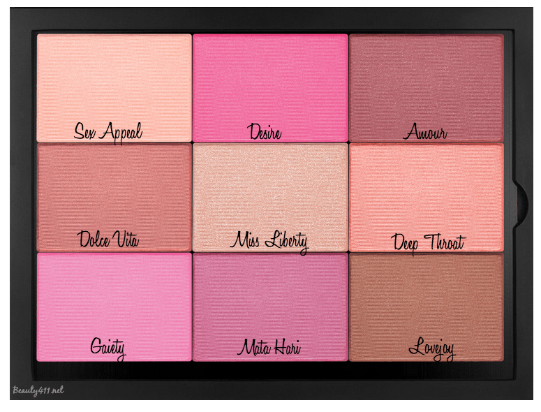 NARS Pro Palette_customized