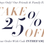 The Big Sale…ShopBop Friends & Family!