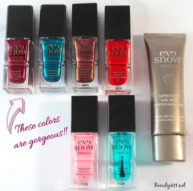 eve snow london nail collection