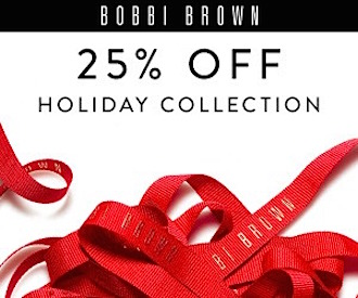 Bobbi Brown holiday promo