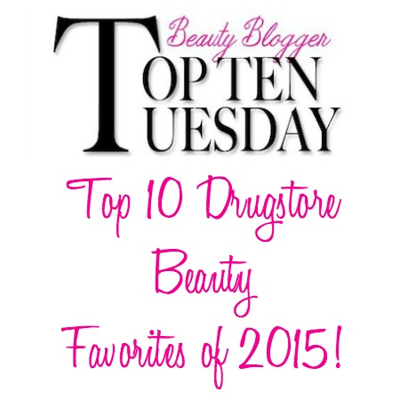 Top 10 Drugstore Beauty Favorites 2015-banner