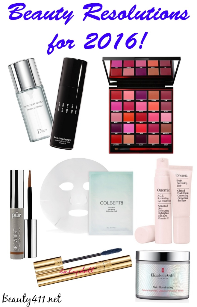 Beauty Resolutions for 2016