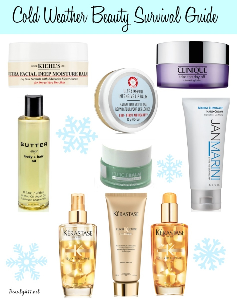 Cold Weather Beauty Survival Guide
