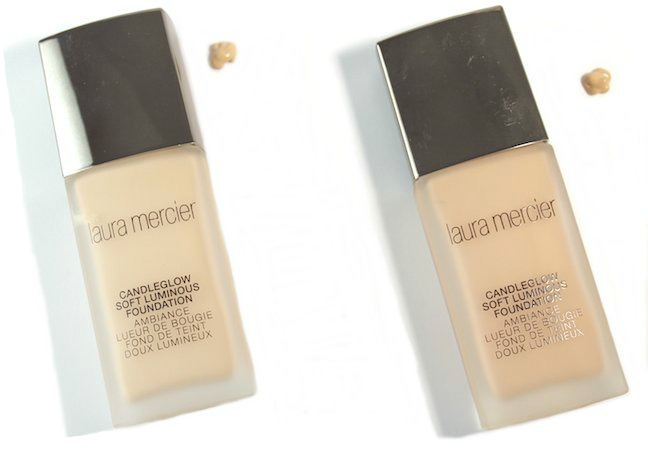 Laura Mercier Candleglow Foundation in Ivory and Butterscotch