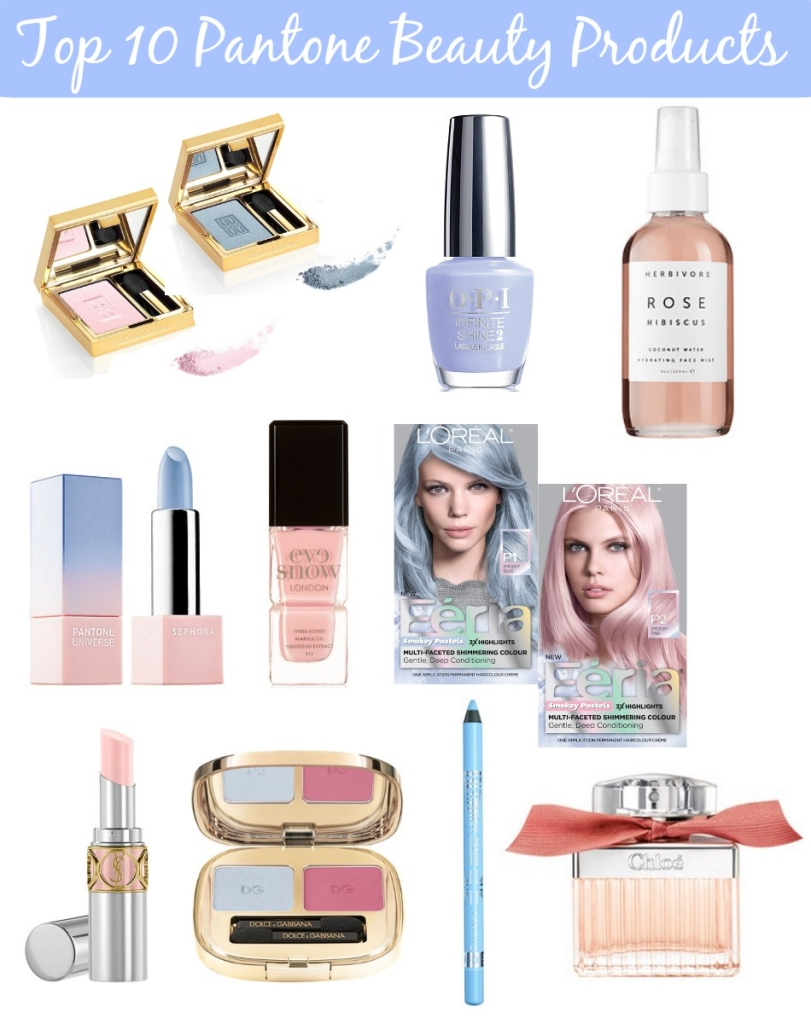 Top 10 Pantone Beauty Products 2016