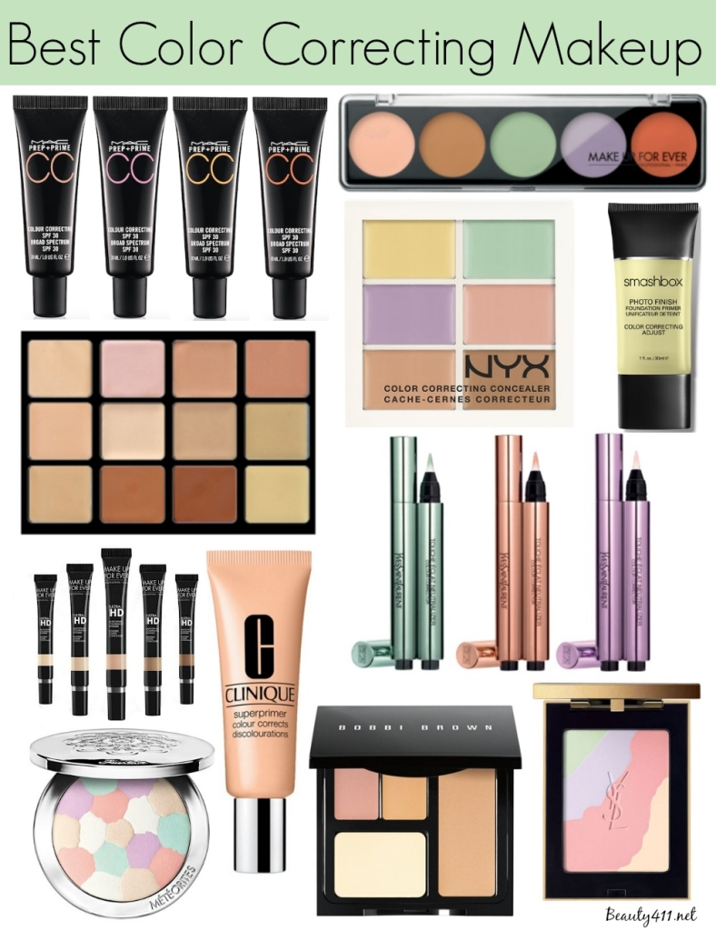 Best Color Correcting Makeup