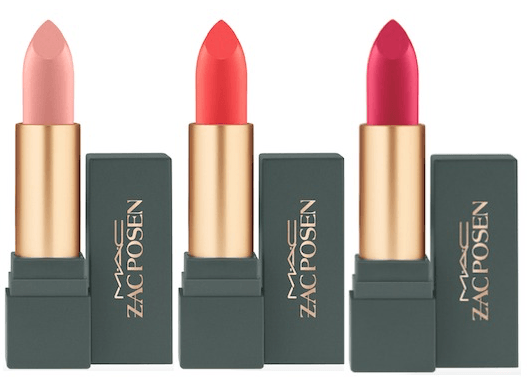 MAC Zac Posen Lipstick Collection