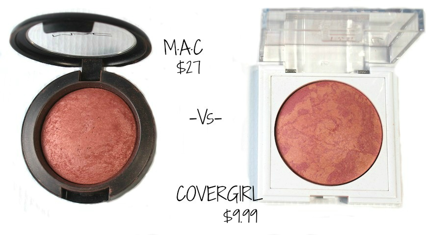 MAC vs COVERGIRL blush splurge or steal