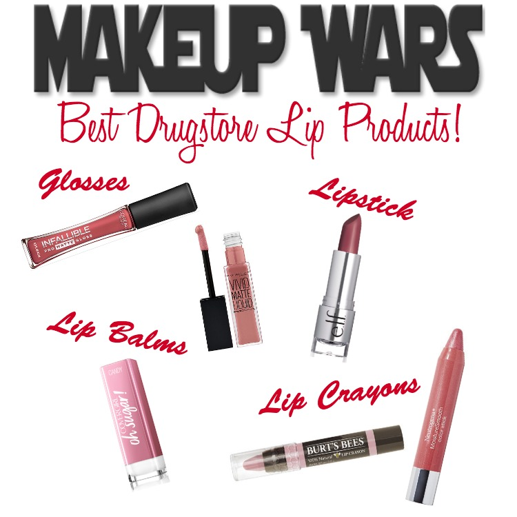 Makeup Wars - Best Drugstore Lip Products