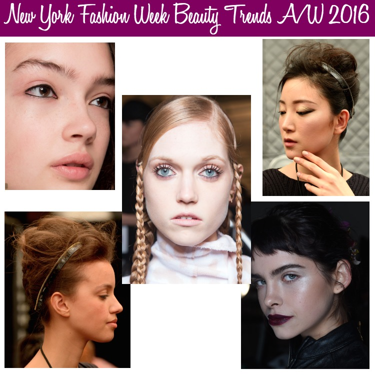 NYFW Beauty Trends AW 2016