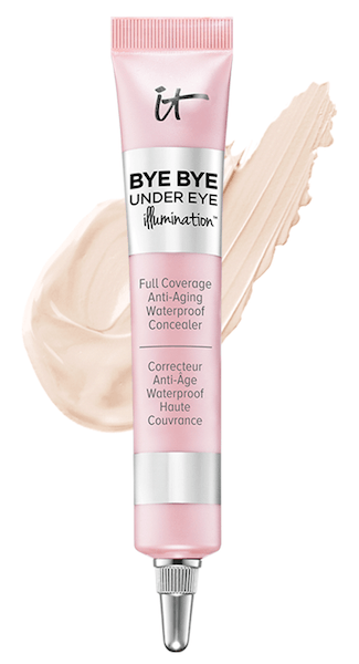 IT Cosmetics Bye Bye Unddereye Illuminating Concealer in Light swatch