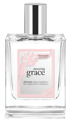 philosophy amazing grace 20th anniversary fragrance