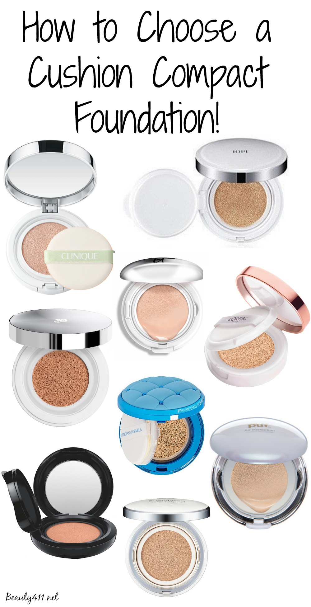 How to choose a cushion compact foundation guide to choosing a cushion compact foundation nvjuhfo Images