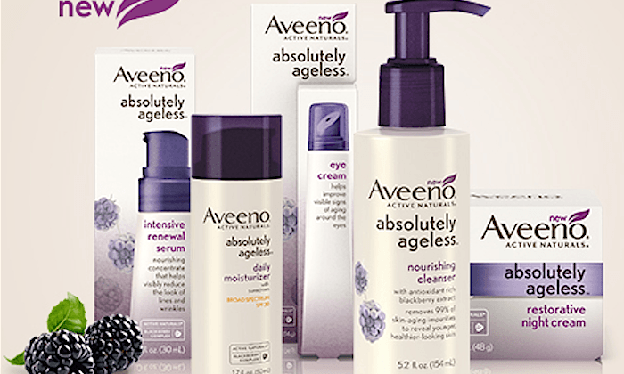 New AVEENO Absolutely Ageless Collection