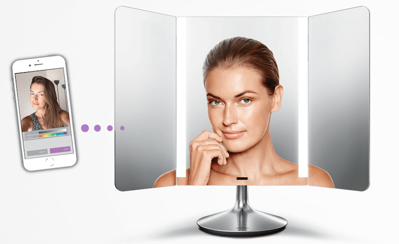 Simplehuman Wide View Mirror And App
